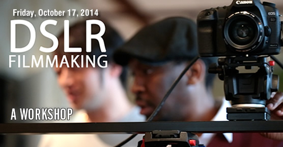 DSLR Filmmaking Workshop at UMFF 2014 - Atlanta, Norcross, Georgia, Gwinnett County, October 18, 2014